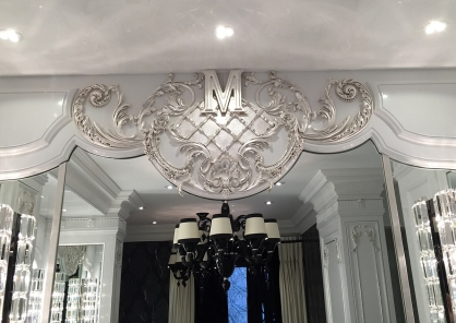 Silver gilt motif