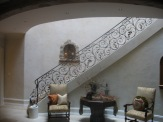 Plaster finish with 4 colour wash in foyer