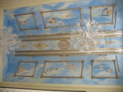 Piano room ceiling