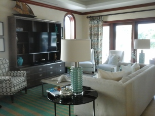Cayman island living room